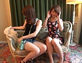 Riko Erika and Honoka Minami get screwed picture 14