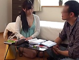 Sexy Japanese milf riding her dude amazingly picture 13