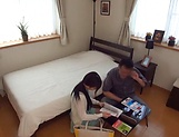 Sexy Japanese milf riding her dude amazingly