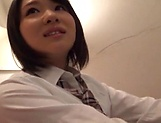 Beauty queen Yurina Kokoa moans as she is poked deep