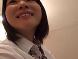 Beauty queen Yurina Kokoa moans as she is poked deep picture 12