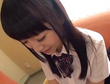 Mayu Mai naughty Asian school girl gets hardcore action picture 4