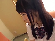 Mayu Mai naughty Asian school girl gets hardcore action