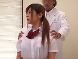 Haruki Riona gets nailed by her hunky doc