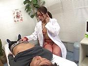 Sexy nurse Nishino Hikari banged superbly