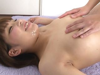 Japanese mature lady enjoys plenty of cumshots