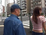 Horny stud gets a warm erotic blowjob from Mao Kurata picture 9