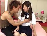 Chihiro Nishikawa nailed by her hunky boyfriend
