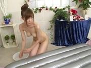 Asian milf Yuna Hayashi amazes with her naughty skills and style