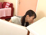 Superb sex with slim Japanese beauty in heat picture 2