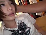 Hot schoolgirl Airi Suzumura has her muff poked