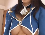 Arisa Fujii mature Asian enjoying doggy style pounding