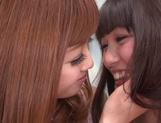 Sweet lesbian show with naughty Asian teen Rina Kato