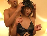 Milf with amazing body, Sara Saijou is fucked in serious modes picture 12