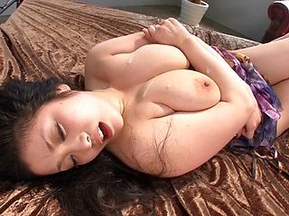 Minako Komukai nasty Asian milf gets hard banging