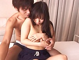 Busty princess Hina Hinami gets fucked and jizzed on face picture 6