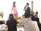 Jun Harada gets screwed in her sexy lingerie