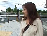 Very attractive Hagiwara Mai gets banged hard.