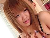 Hinano Momosaki gives an erotic hand job picture 11