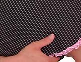 Hinano Momosaki gives an erotic hand job picture 14