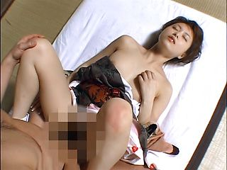 Akiho Yoshizawa gets her cunt licked and fucked
