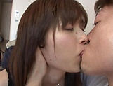 Mizuho Uehara gets rammed hard on the couch picture 15