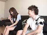 Mizuho Uehara gets rammed hard on the couch