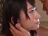 Small tits Asian wife, Ichika Ayamori fucked hard and filled with cum