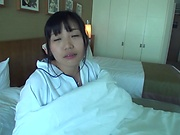 Eiko Kimura gets creamy facials after blowjob
