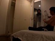Kaori Saeki enjoys a breathtaking pounding