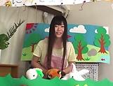 Arousing Japanese porn scenes with hot teen Ayaka Kuriyama picture 14