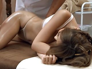 Moka, horny Asian milf banged and seen by a voyeur