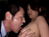 Arousing Japanese milf, Erika Masujaku gets banged hard in a threesome