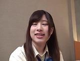 Mizuki Chinami has her pink pussy sensually stimulated
