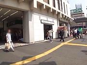 Yui Tsukushi gets slammed hard position 69.