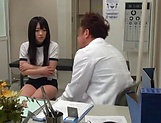 Sensual Asian cutie Hibiki Aimi nasty sucking dick picture 15