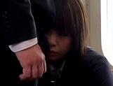 Kasumi Risa loves a rear bonk in a train
