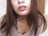 Busty Mizuki decides to masturbate solo picture 15