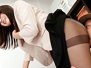 Exotic Asian honey Yuu Shiraishi loves getting freaky