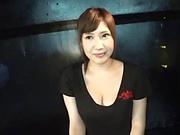 Hot milf Mizuna Wakatsuki gets her pretty face jizzed