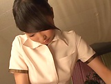 Lovely sensually Aai Yuzuki seduces a dude picture 7