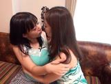 Kaori Otonashi, and Shiori Tsukada arrange hot Asian lesbian sex
