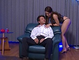 Hot female domination with Asian babe Mei Matsumoto