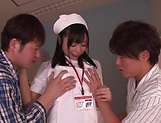 Mizuhara Mako enjoys a steamy threesome picture 15