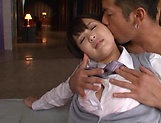 Tsukasa Aoi erotically teased indoors picture 15