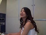 Nanko Tsukishima has her hairy cunt creamed