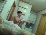 Glamorous Japanese hottie, Yuuki Hodaka, enjoys banging