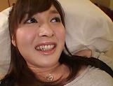 Mizuho Uehara fingering her succulent muff picture 13