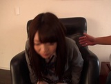 Delicious Japanese schoolgirl Aisu Kokoa gets toyed and fucked doggy-style picture 10