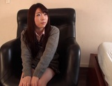 Delicious Japanese schoolgirl Aisu Kokoa gets toyed and fucked doggy-style picture 7